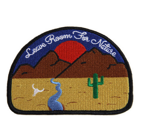 Explorer's Press - Explorer's Press 'Leave Room For Nature' Embroided Patch - Patches & Pins - Stock & Supply Stores
