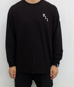Oli Clothing - Oli Clothing 'Basic - Black' Longsleeve - T-Shirt - Longsleeve - Stock & Supply Stores