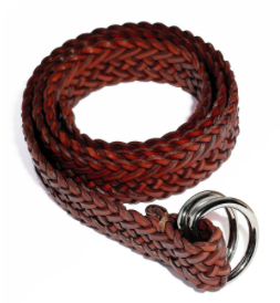 West Texas 'Braided - Brown' Belt
