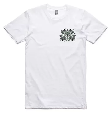 Evolution 'Mandala - White' Tee
