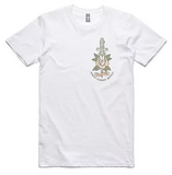 Evolution Apparel - Evolution 'Rose - White' Tee - LAST ONE!!! - T-Shirt - Stock & Supply Stores