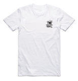 Wanderers Co 'Take the Weather - White' Tee