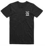 Wanderers Co 'Time & Tide - Black' Tee