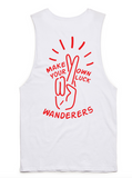 Wanderers Co 'Lucky - White' Muscle