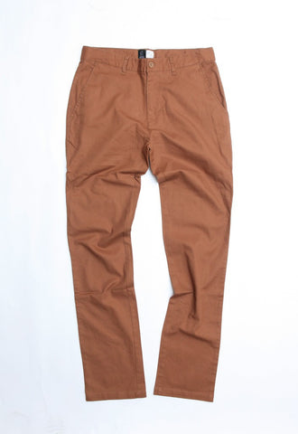 Wanderers Co - Wanderers Co 'Chino' Pants Tobacco - Chino - Stock & Supply Stores