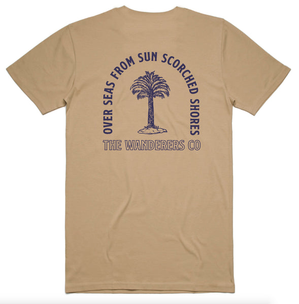 Wanderers Co 'Sun Scorched - Tan' Tee