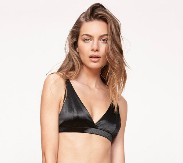 Evil Twin 'Triangle - Black' Bralette - LAST ONE!!!