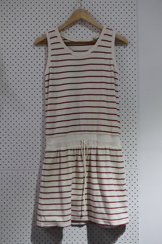 Vintage & Preloved '70s Racket - Stripe' Dress