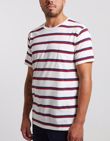 Banks Journal 'Trial - Stripe' Tee - LAST ONE!!!