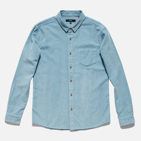 Banks Journal 'Roy - Glacier Blue' Longsleeve Woven Shirt - LAST ONE!!!