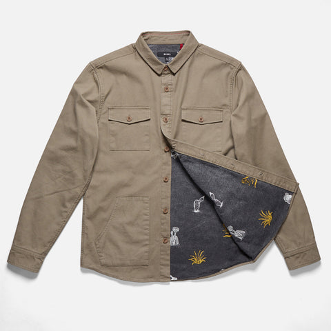 Banks Journal 'Woodman - Olive' Shirt Jacket