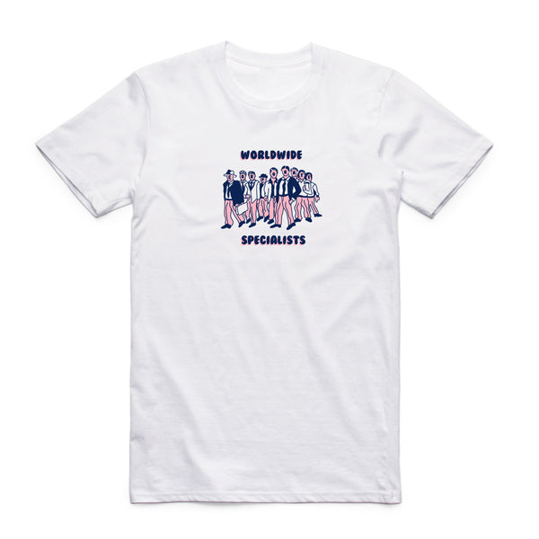 Stale Brand 'Worldwide Specialists - White' Tee