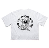 Wanderers Co 'Take the Weather - White' Crop