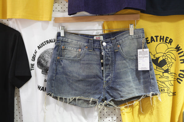 Vintage and Preloved 'Ada' Levi 501 Denim Shorts