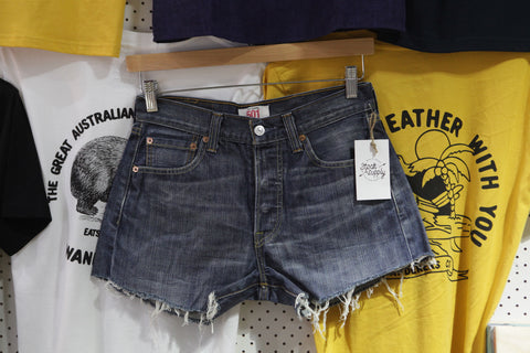 Vintage and Preloved 'Adaline' Levi 501 Denim shorts