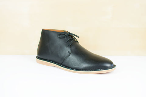 Nudio Studio - Nudio Studio 'Antonio - Black' Boots - Footwear - Stock & Supply Stores