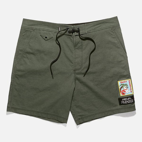 Banks - Banks Journal 'Freedom - Combat' Boardshort - LAST ONE!!! - Shorts & Pants - Stock & Supply Stores