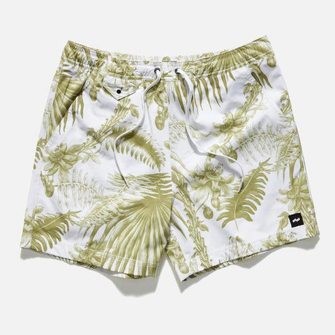 Banks 'Gardenia - Off White' Boardshort