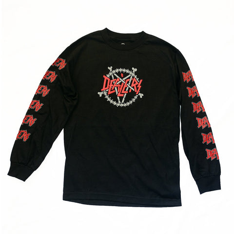 Death Dealers 'Dealers - Black' Longsleeve