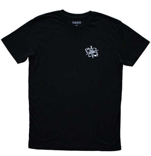 Ordr Co - ORDR CO 'Pin - Black' Tee - T-Shirt - Stock & Supply Stores