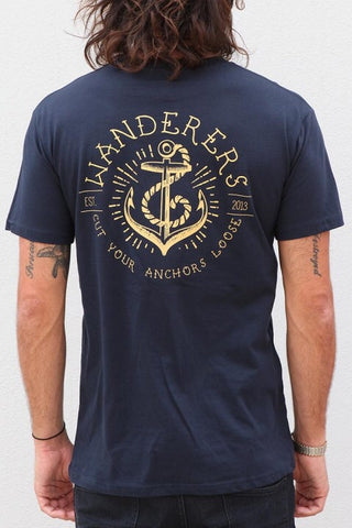 Wanderers Co - Wanderers Co 'Anchors' Tee - T-Shirt - Stock & Supply Stores