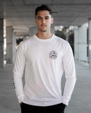 Kanvass - Kanvass 'All Foreseeing Eye - White' Longsleeve - LAST ONE!!! - T-Shirt - Stock & Supply Stores