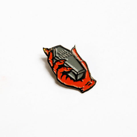 Death Dealers 'Hell Bound' Badge Pin