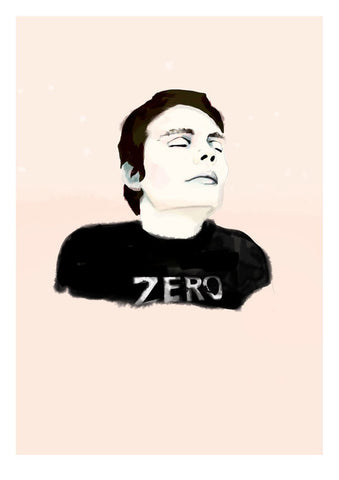 And Lizzy - And Lizzy 'Zero - Billy Corgan' Print - Prints - Stock & Supply Stores
