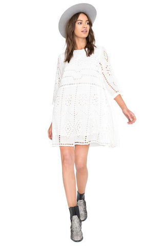 Amuse Society 'Ophelia - White' Dress