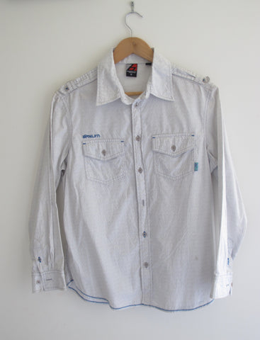 Vintage & Preloved 'Laura' Long Sleeve Button Up Shirt