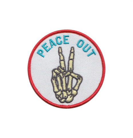 BLC Patches - BLC Patches 'Peace Out' Patch - Patches & Pins - Stock & Supply Stores