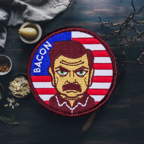 For the Love of Patch - 4 Love of Patch 'Bacon' Patch - Patches & Pins - Stock & Supply Stores