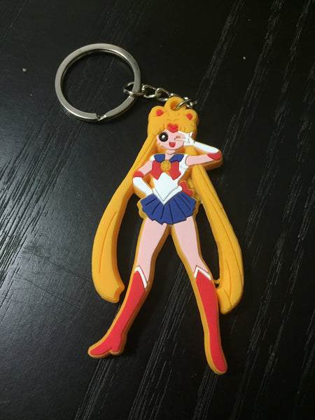 Patch & Pin 'Sailor Moon' Rubber Keyring