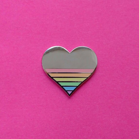 Pin Killers 'Heart' Badge Pin