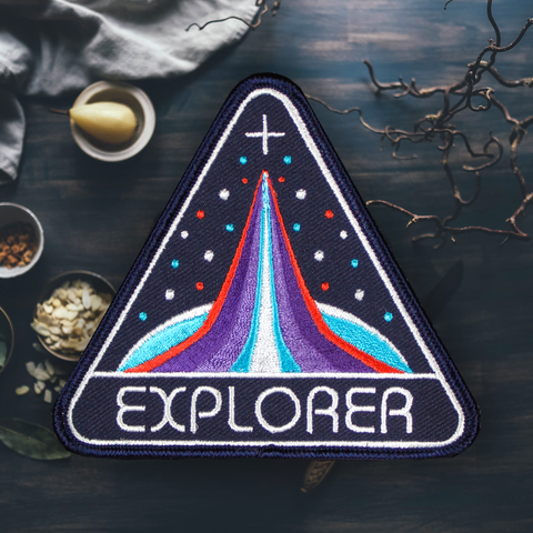 For the Love of Patch - 4 Love of Patch 'Space Explorer' Patch - Patches & Pins - Stock & Supply Stores