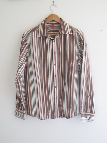 Vintage & Preloved 'Eudoxia' Longsleeve Button Up Shirt