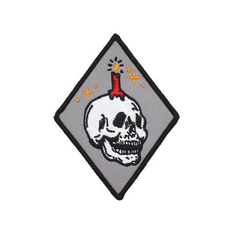 Explorer's Press - Explorer's Press 'Knowledge Skull' Patch - Patches & Pins - Stock & Supply Stores