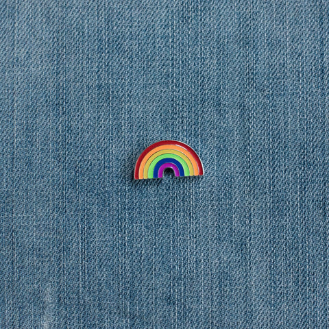 Patch & Pin 'Rainbow' Badge Pin