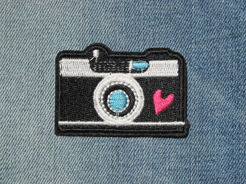 Patch & Pin 'Camera' Patch