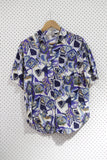 Vintage and Preloved 'Kikomo' Button Up Tee