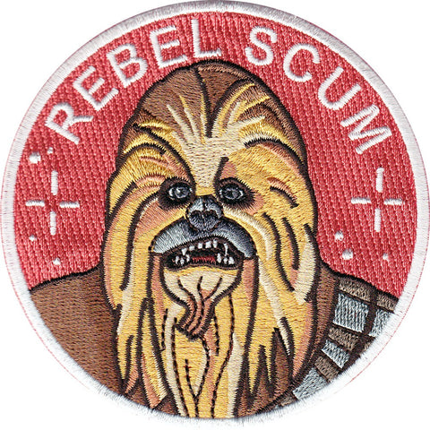 La Barbuda - La Barbuda 'Chewbacca' Iron On Patch - Patches & Pins - Stock & Supply Stores