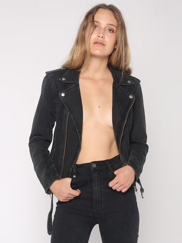 Thrills 'Rose Stranger - Black' Jacket