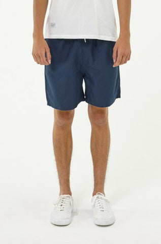 Huffer 'Staple - Navy' Swim Trunk