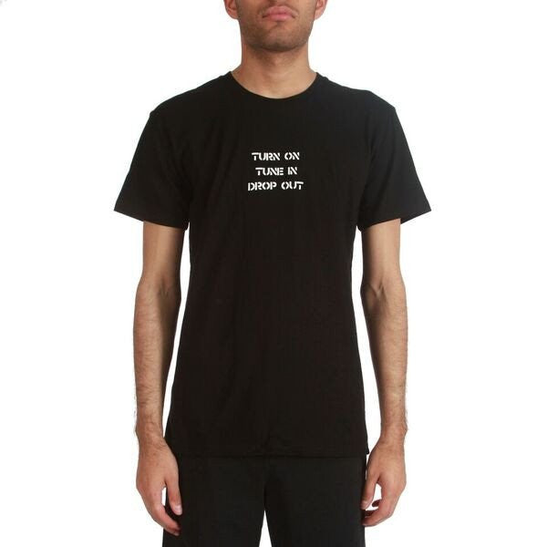 Jungles Jungles - Jungles 'Tune in Drop Out - Black' Tee - T-Shirt - Stock & Supply Stores
