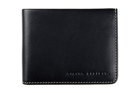 Status Anxiety - Status Anxiety 'Alfred - Black' Wallet - Wallet - Stock & Supply Stores