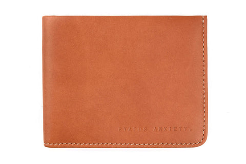 Status Anxiety - Status Anxiety 'Alfred - Camel' Wallet - Wallet - Stock & Supply Stores