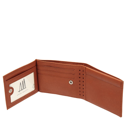 Status Anxiety 'Noah - Camel' Wallet