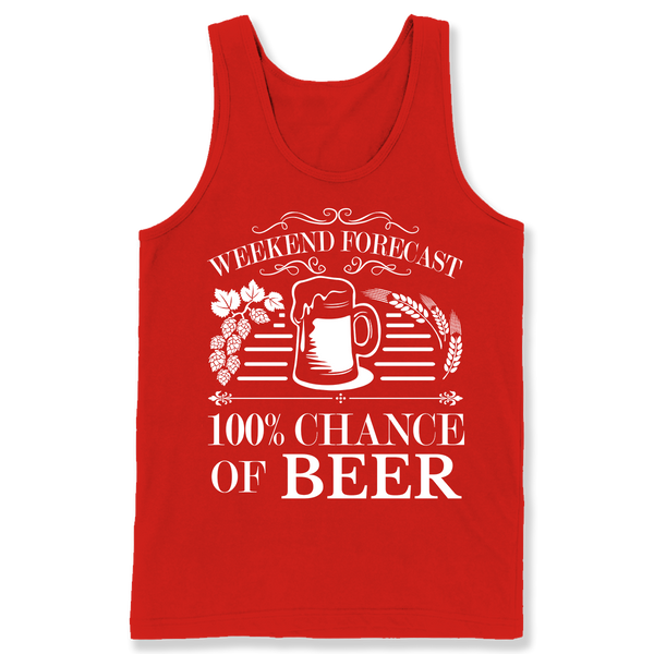100% Chance of Beer