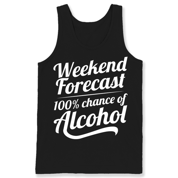 Weekend Forecast: 100% Chance of Alcohol