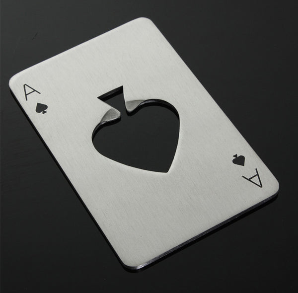 Ace Of Spades Bottle Opener